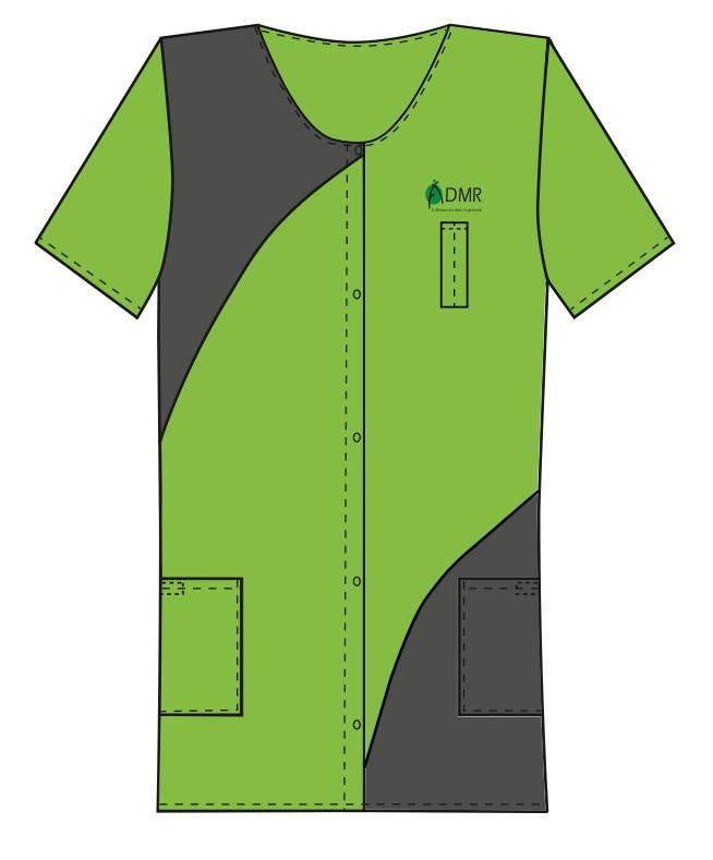 blouses personnalisées admr