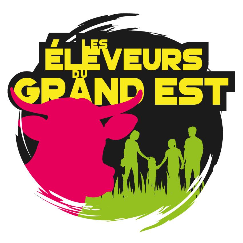 Nouveau logo Les Eleveurs du Grand Est