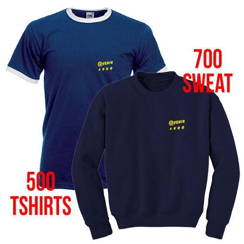 T-shirts et sweatshirts personnalisés